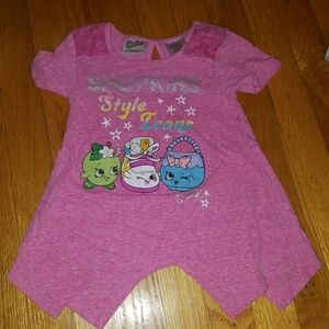 Girls Shopkins Shirt